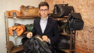 Обзор универсальной мужской сумки HADLEY Harrison