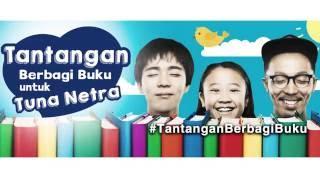 #TantanganBerbagiBuku Yayasan Mitra Netra di Kantor Kemenko PMK (Jakarta)