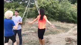 Грузинка И Грузин Танцуют Забавно С Танцором В Горах 2018 ALISHKA IA LIPO (Боржоми)