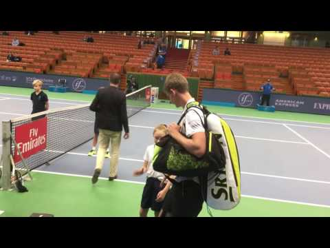 Kevin Anderson in Stockholm Open in Tennis 2016