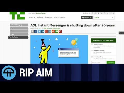 AOL Messenger Is Dead, but Slashdot Goes On