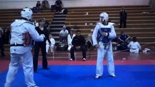 Matt Sanders New England championships TKD