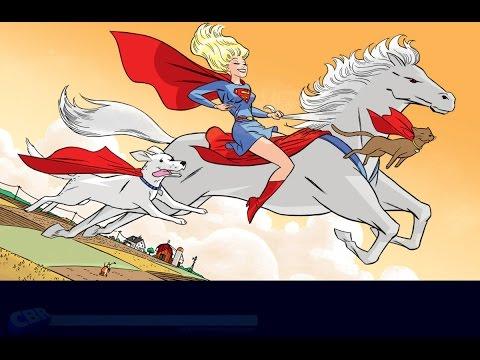 Supergirl TV Series Coming - Speeding Bulletin (September 5-11, 2014)