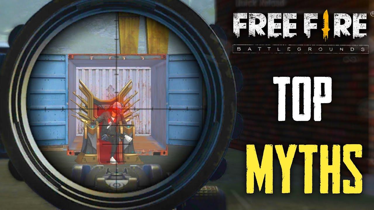 Top Mythbusters in FREEFIRE Battleground | FREEFIRE Myths #164