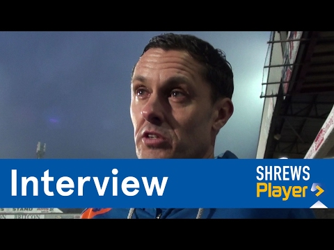 INTERVIEW | Paul Hurst post Scunthorpe United (A) - Town TV