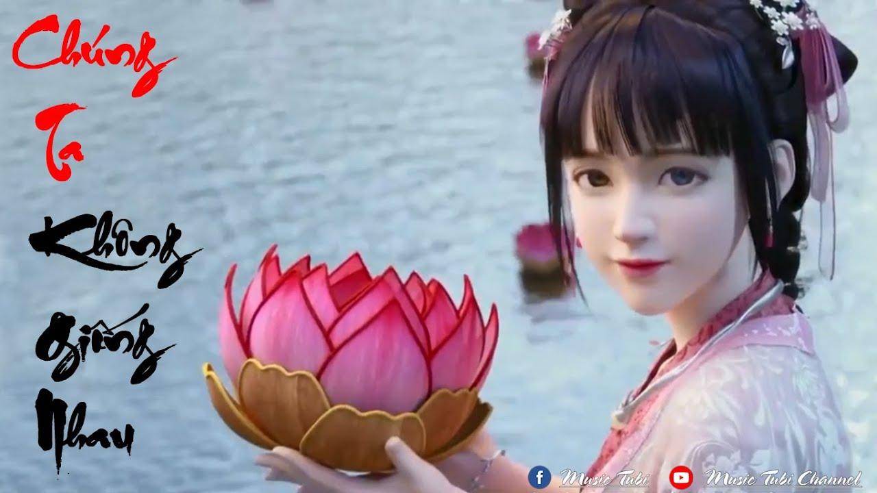 Phê Pha Với Nhạc Phim Anime 3D - Chúng Ta Không Giống Nhau | Nhạc EDM China Remix