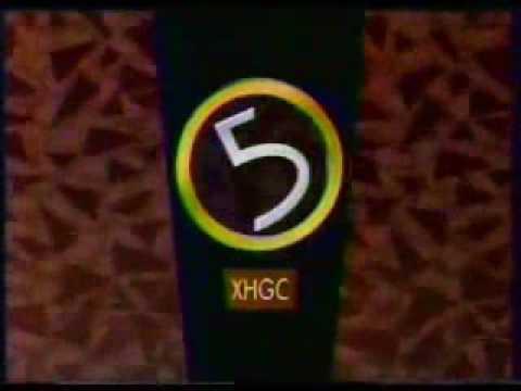 Logos/cortinillas de XHGC Canal 5 (1985 - 2010)