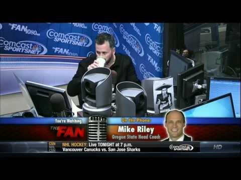 03-05-13 Mike Riley Interview and OSU Beavers Rebranding discussion Part 1 of 2