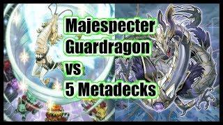 Majespecter Guardragon vs 5 Meta Decks August 2019 (YGO PRO)