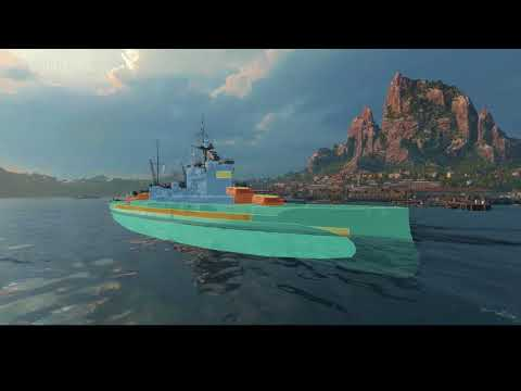 world of warships Pan asia line and chatty time