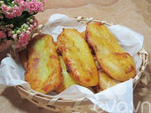 Cách làm bánh chuối nướng thơm ngon cực hấp dẫn