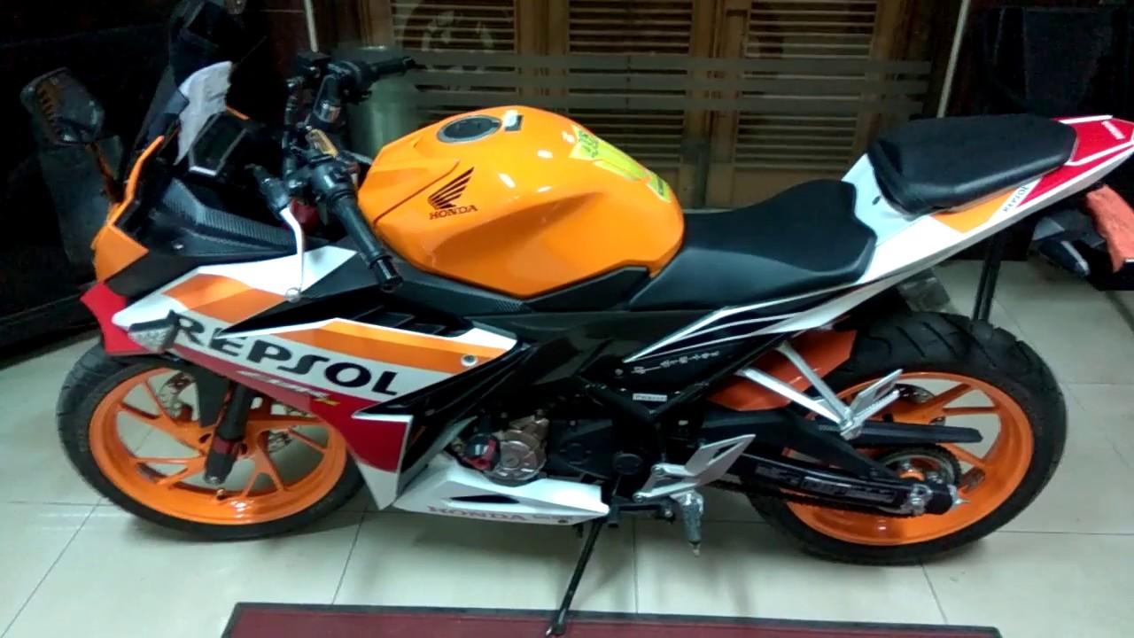 Modifikasi Dan Tambahan Aksesoris Simple Untuk Motor Honda CBR 150 R