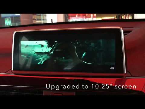BMW F48 X1 10.25″ Big Screen Monitor Upgraded