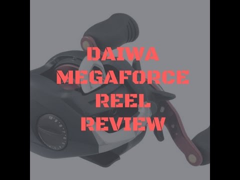 b9b0b21268d Daiwa MegaForce THS reel review - YouTube