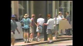 WBTV: Peter Bogdanovich Film Shoot - Chester, SC (June 1995)