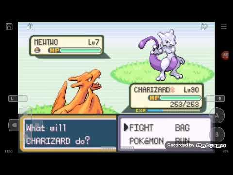 Código para pegar o Mewtwo e o Mew no Pokémon fire red