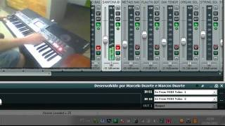 Reaper - selecting tracks on REAPER send program change messages - Exemplo 2