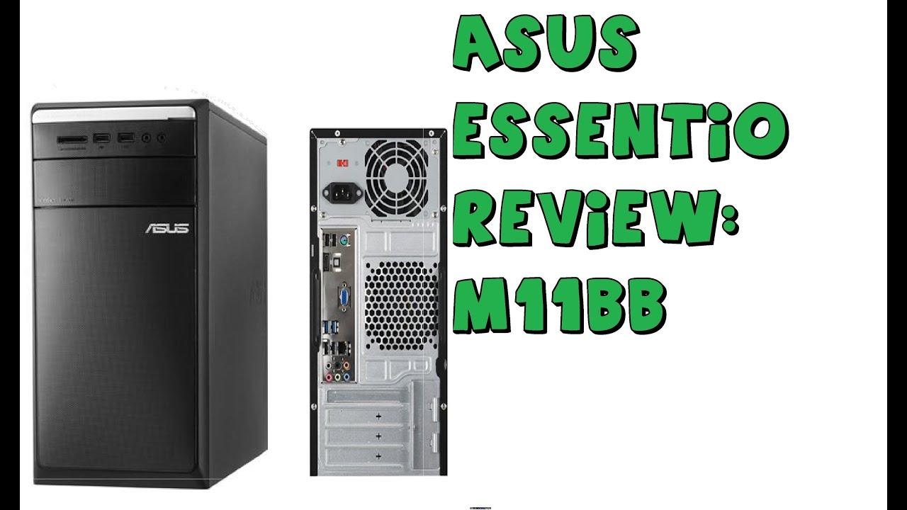 asus m11bb essentio desktop review youtube rh youtube com