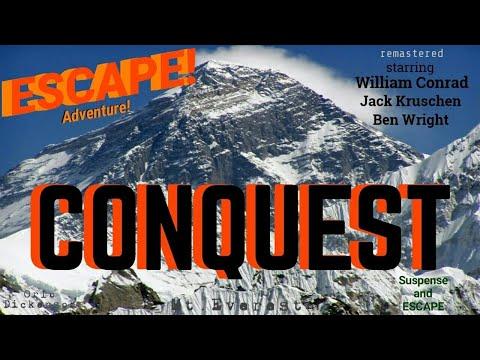 """""""CONQUEST"""" • [remastered] • WILLIAM CONRAD, JACK KRUSCHEN, BEN WRIGHT • ESCAPE! Best Episodes"""