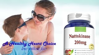 Nattokinase For Healthy Circulation, Blood Flow & Blood Pressure by Boostceuticals