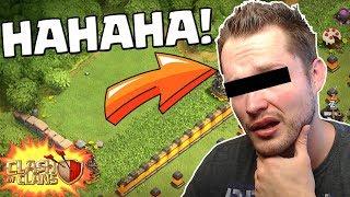 Er BLAMIERT sich komplett auf YOUTUBE! ⭐ Clash of Clans