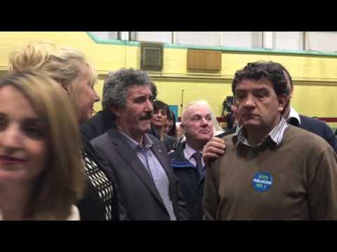 John Halligan elected in Waterford