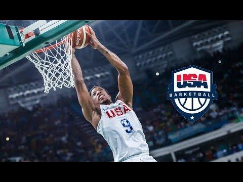 Demar Derozan - INSANE Dunks of 2016 USA Olympics!