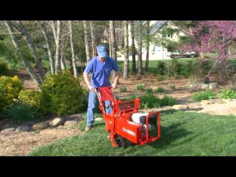 Operating The Clen Gear Drive Sod Cutter You