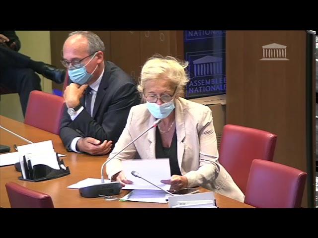 Audition François TOUJAS - Président de l'Etablissement français du sang