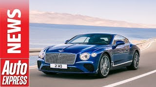 New Bentley Continental GT revealed with 626bhp W12 power