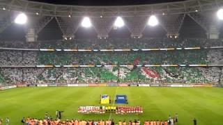 السلام الملكي السعودي في الجوهرة السعودية والامارات ksa vs uae national anthem