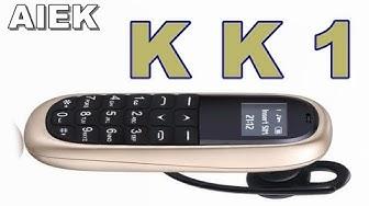 The smallest phone AIEK KK1