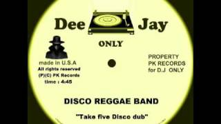 Disco Reggae Band - Take five Disco dub (12 inch - Music Master).