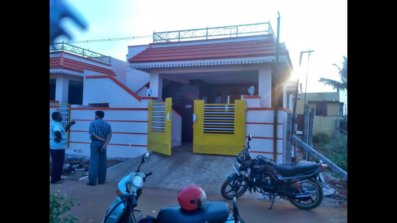 New house for rent in irugur coimbatore tamil nadu youtube for Home models in tamilnadu pictures