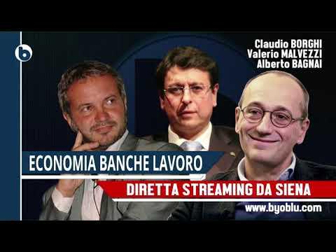 Claudio Borghi Aquilini Alberto Bagnai Valerio Malvezzi Siena 16/02/2018