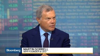 WPP CEO Sorrell on Brexit, Trade, Business, and Trump