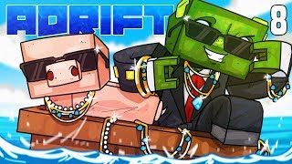Minecraft: ADRIFT - BRINGING HOME THE BACON $£$! (Ep.8)