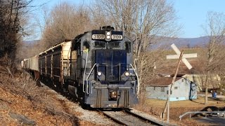EMDs Under Blue Skies on Pan Am and the Vermont Railway