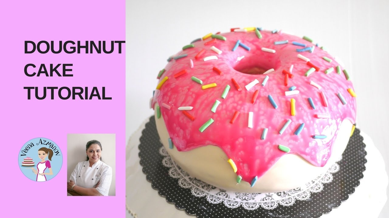 How To Make A Doughnut Cake Donut Tutorial