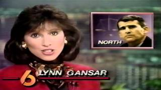 WDSU-TV 6 News Tonight 2-13-1989 Newscast