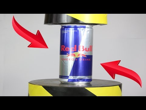 Toys Review RedBull And Toys Vs Hydraulic Press | The Crusher