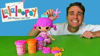 Lalaloopsy Hair Dough Tress Twist and Braid !  || Toy Unboxing || Konas2002