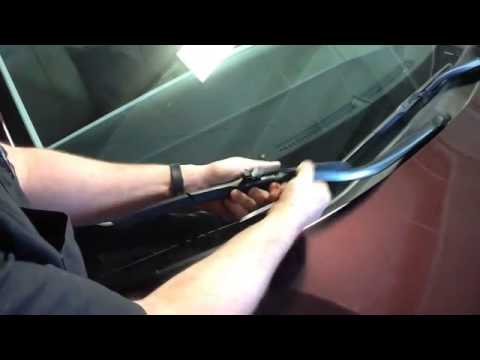 Remove And Re Install Wiper Blades On A 2017 Toyota Avalon