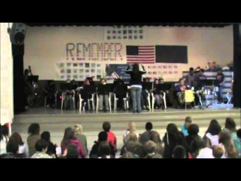 Woodbrook Middle School 8th Grade Band performing Jump Start at Hillside Elementary June 8th, 2012