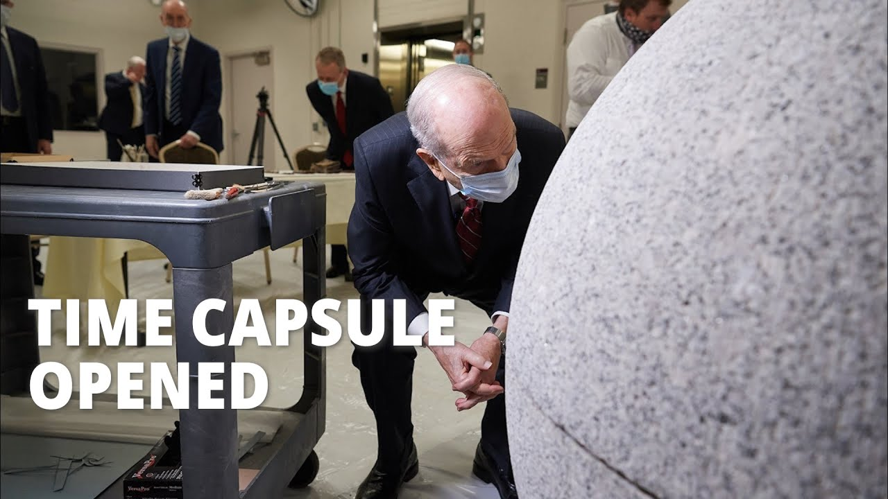 Salt Lake Temple Time Capsule Opened