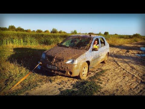 Cu Dacia Logan Pe Camp - Off Road - Test Drive