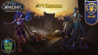 Let's Play World of Warcraft BFA 110-120 Voidelf [Deutsch] #74 Nazjatar