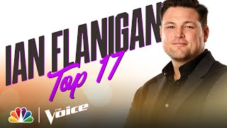 "Ian Flanigan Sings Bob Dylan's ""Make You Feel My Love"" - The Voice Live Top 17 Performances 2020"