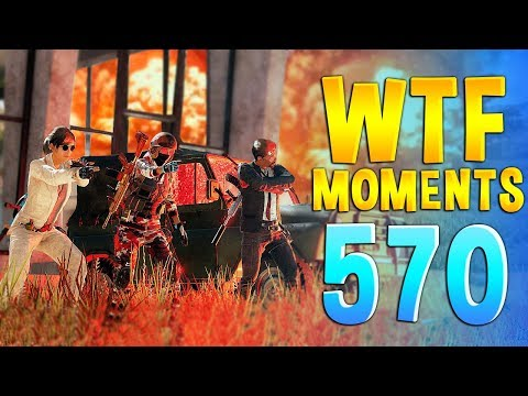 PUBG WTF Funny Daily Moments Highlights Ep 570