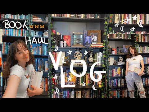 Book Hauls & New Bookshelves 📚💫reading vlog